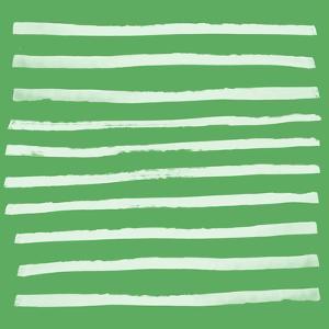 Simple Stripes Fern by Leah Flores