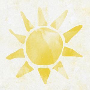 Sunshine Watercolor by Leah Flores