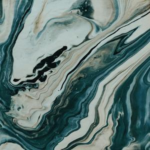 Tranquil Arctic Marble by Leah Flores