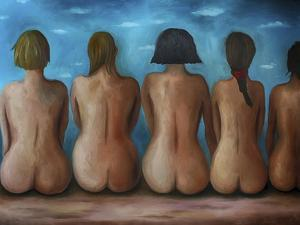 Beach Bums by Leah Saulnier