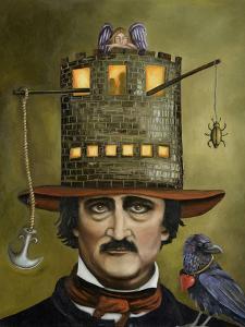 Edgar Allan Poe by Leah Saulnier
