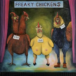 Freaky Chickens by Leah Saulnier