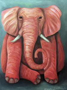 Pink Elephant by Leah Saulnier