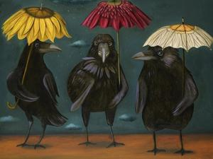 Ravens Rain by Leah Saulnier