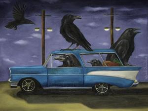 Ravens Ride by Leah Saulnier