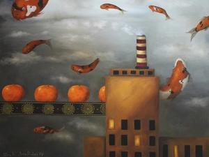 Tangerine Dream by Leah Saulnier