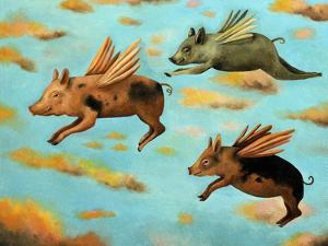 When Pigs Fly by Leah Saulnier