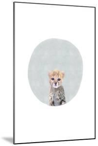 Baby Cheetah Circle by Leah Straatsma