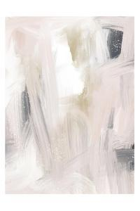Blush And Gold And Blue Grey by Leah Straatsma