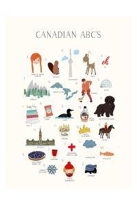 Canadian ABCs by Leah Straatsma