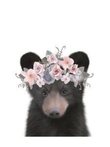 Floral Bear by Leah Straatsma