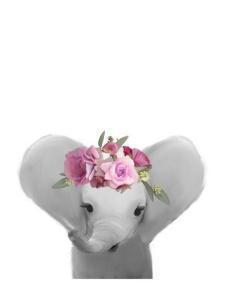 Floral Elephant by Leah Straatsma
