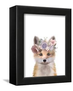 Floral Fox by Leah Straatsma