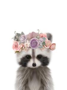 Floral Raccoon by Leah Straatsma