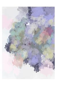 Lavender Watercolor by Leah Straatsma