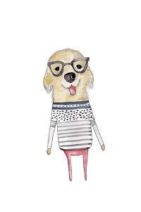 Puppy Glasses by Leah Straatsma