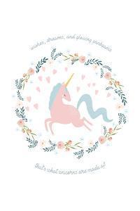 Wishes Dreams Unicorn by Leah Straatsma