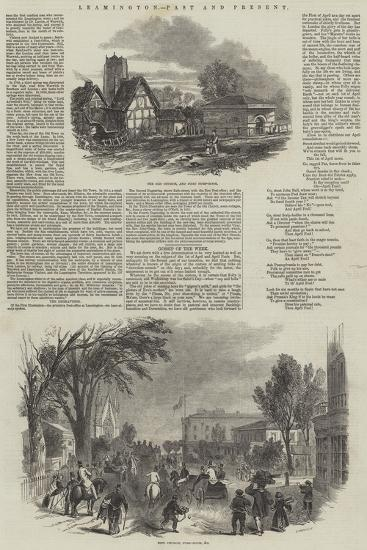 Leamington, Past and Present--Giclee Print
