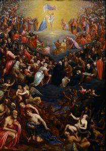 The Last Judgment by Leandro Bassano