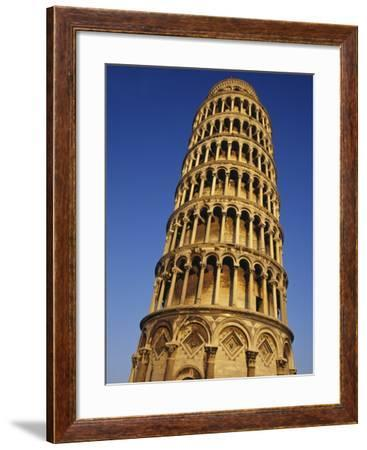 Leaning Tower of Pisa-Merrill Images-Framed Photographic Print