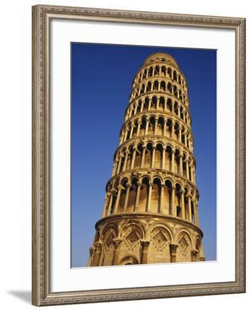 Leaning Tower of Pisa-John & Lisa Merrill-Framed Photographic Print