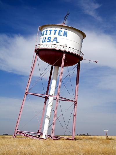 Leaning Tower of Texas, Historic Route 66 Landmark, Groom, Texas, USA-Richard Cummins-Photographic Print