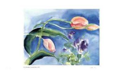 Leaning Tulips-Lynn Donoghue-Collectable Print