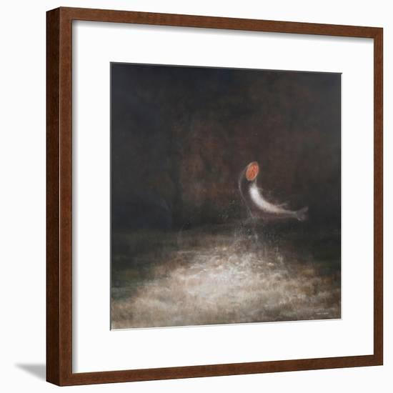 Leaping Fish, 2012-Lincoln Seligman-Framed Giclee Print