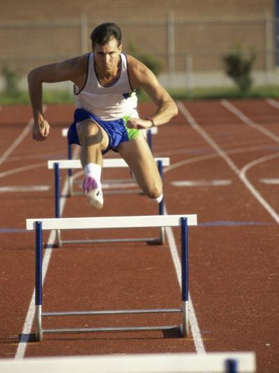 Leaping Over Hurdles--Photographic Print