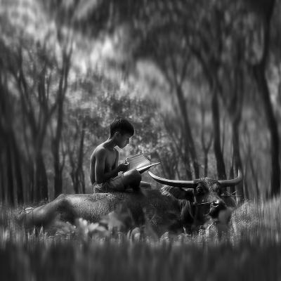 Learn Spirit-Antonyus Bunjamin (Abe)-Photographic Print