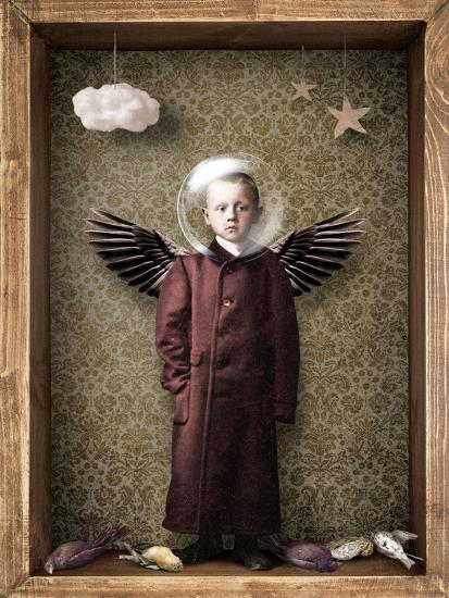 Learning to fly-Trygve Skogrand-Giclee Print