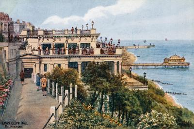 Leas Cliff Hall, Folkestone-Alfred Robert Quinton-Giclee Print