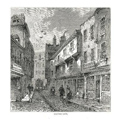 Leather Lane, 1878--Giclee Print
