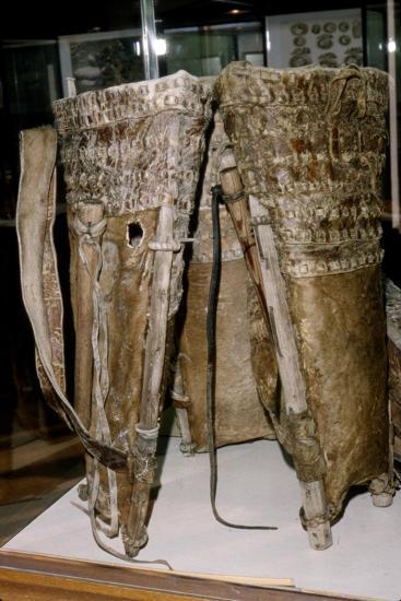 Leather Russacks found in the Salt Mines of Hallstatt, Austria: Celtic Iron Age: c. 6th century BC-Unknown-Giclee Print
