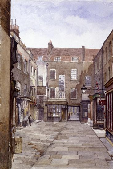 Leather Sellers' Buildings, London Wall, London, 1883-John Crowther-Giclee Print