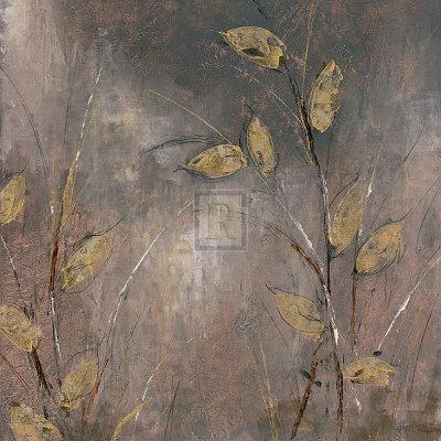 Leaves at Dawn I-Bridges-Art Print