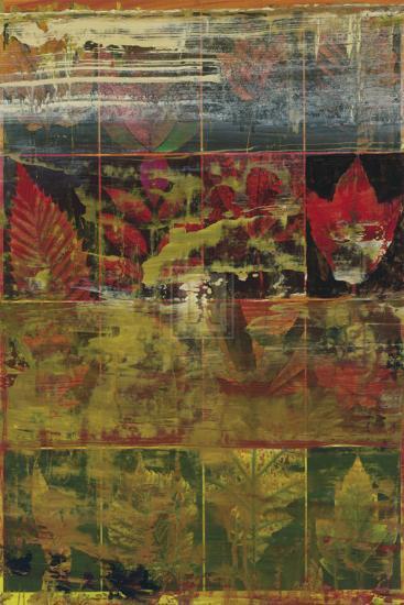 Leaves in a Row I-John Douglas-Art Print