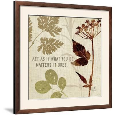 Leaves of Inspiration IV-Sarah Mousseau-Framed Photographic Print