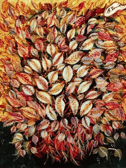 Leaves-Seraphine (de Senlis) Louis-Art Print