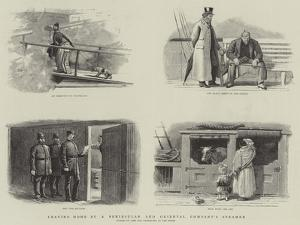 Leaving Home by a Peninsular and Oriental Company's Steamer
