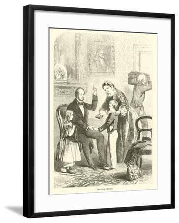 Leaving Home--Framed Giclee Print