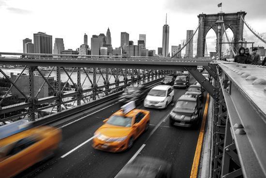 Leaving Manhattan--Giclee Print