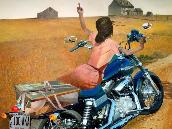 Leaving-Barry Kite-Art Print