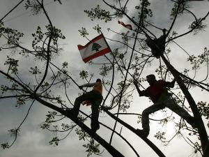 Lebanese Anti-American Protesters