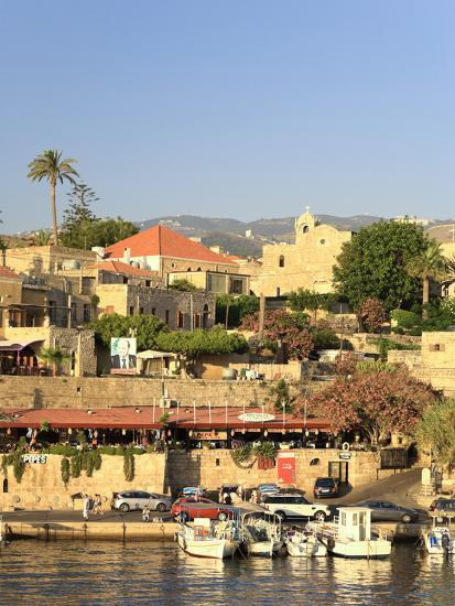 Lebanon, Byblos, Harbour-Michele Falzone-Photographic Print