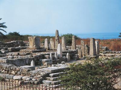 Lebanon, Byblos, the Temple of the Obelisks--Giclee Print