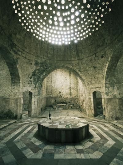 Lebanon, Tripoli, Old Town, El Jadid Hamam (Bath)-Michele Falzone-Photographic Print