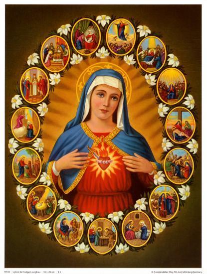 Leben der Heiligen Jungfrau--Art Print
