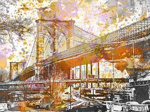 Brooklyn Bridge by Lebens Art