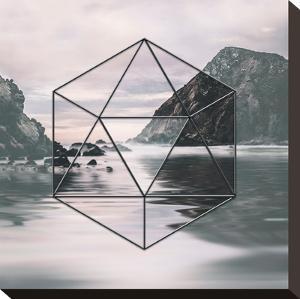 Landscape Surreal Geometry 2 by Lebens Art